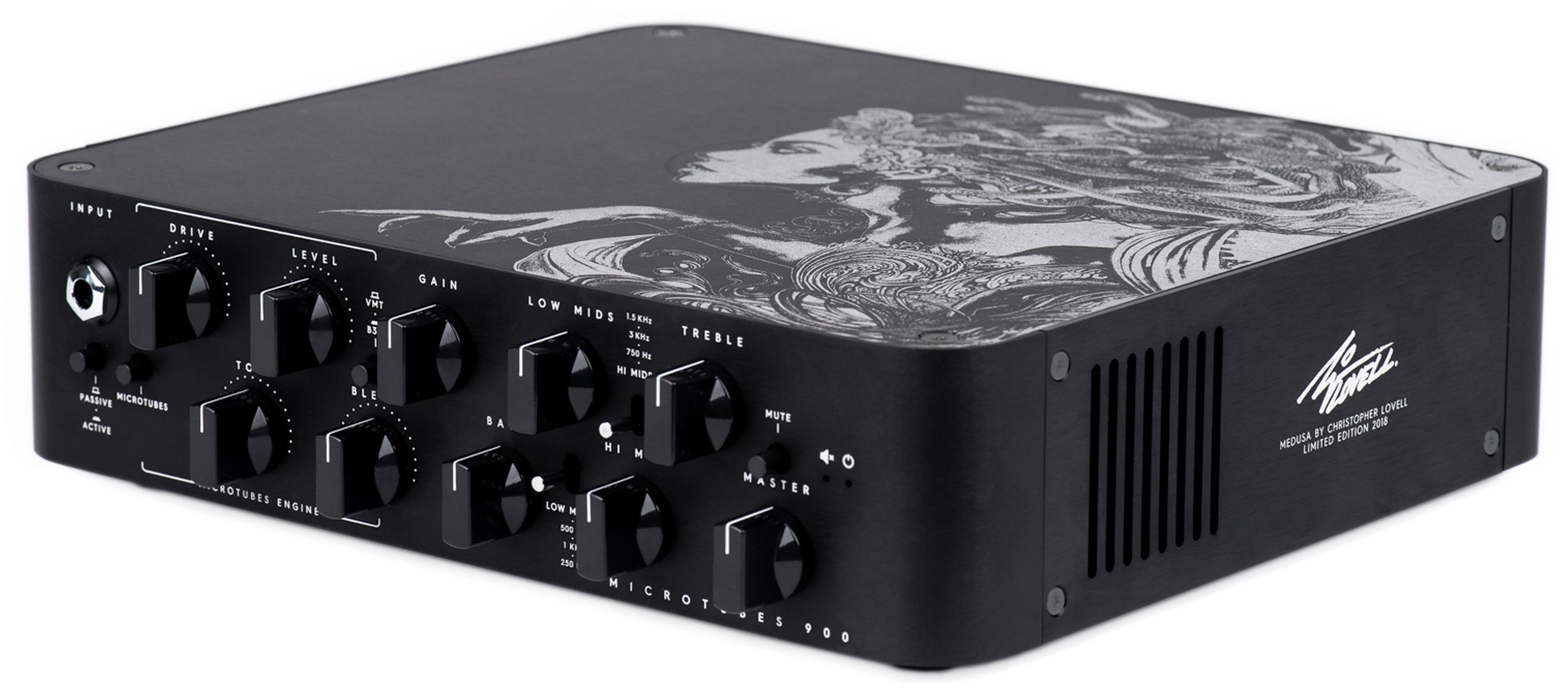ebc8e16c5cb Darkglass Microtubes 900 Ltd Medusa Christopher Lovell Bass amp head ...