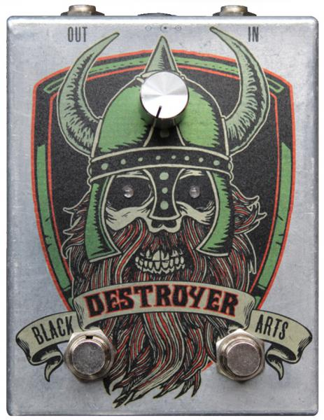Pédale overdrive / distortion / fuzz Black arts toneworks Destroyer Dual Fuzz