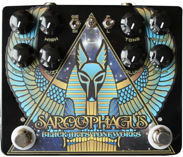 Pédale overdrive / distortion / fuzz Black arts toneworks Sarcophagus Fuzz (Pharaoh + LSTR)