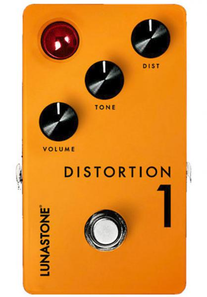 Pédale overdrive / distortion / fuzz Lunastone Distortion 1