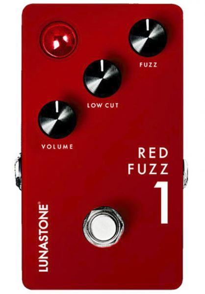 Pédale overdrive / distortion / fuzz Lunastone Red Fuzz 1