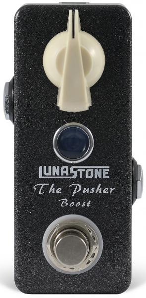 Pédale volume / boost. / expression Lunastone The Pusher Boost