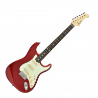 Guitare électrique solid body Bacchus BST 650 B Global - Candy apple red