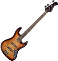 Basse électrique solid body Bacchus WJB-SPM ACT BRB Universe - Brown burst