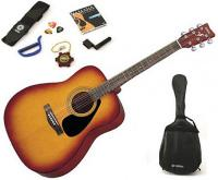 Pack guitare folk Yamaha F310P - Tobacco brown sunburst