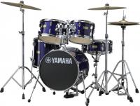 Batterie acoustique junior Yamaha Kit Junior Manu Katche - 4 fûts - Deep violet