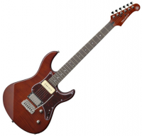 Guitare électrique solid body Yamaha Pacifica 611 VFM - Root beer