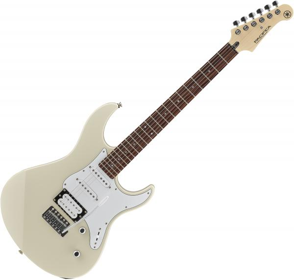 Guitare électrique solid body Yamaha Pacifica PAC112V - Vintage white