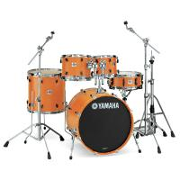 Batterie acoustique stage Yamaha Stage Custom BIrch Stage 22 - 5 fûts - Honey amber