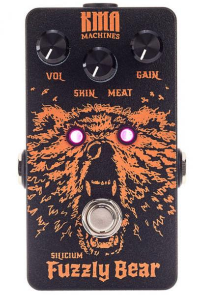 Pédale overdrive / distortion / fuzz Kma Fuzzly Bear Silicium Fuzz