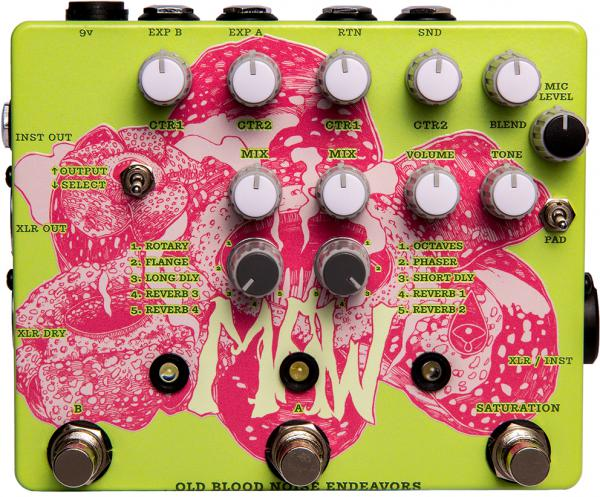 Processeur d'effets  Old blood noise Maw XLR