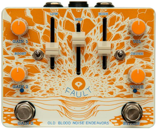Pédale overdrive / distortion / fuzz Old blood noise Fault Overdrive/Distortion V2