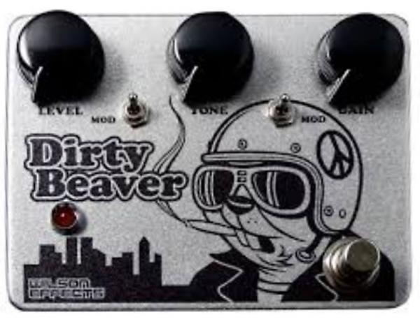 Pédale overdrive / distortion / fuzz Wilson effects Dirty Beaver Fuzz Ram's Head