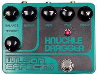 Pédale overdrive / distortion / fuzz Wilson effects Knuckle Dragger Fuzz