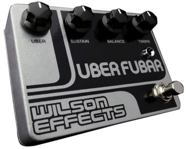 Pédale overdrive / distortion / fuzz Wilson effects Uber Fubar Fuzz