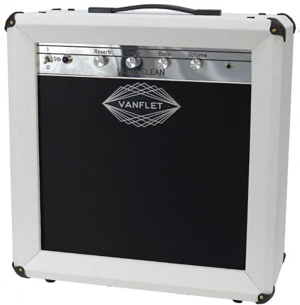 Combo ampli guitare électrique Vanflet Ultra Clean - White