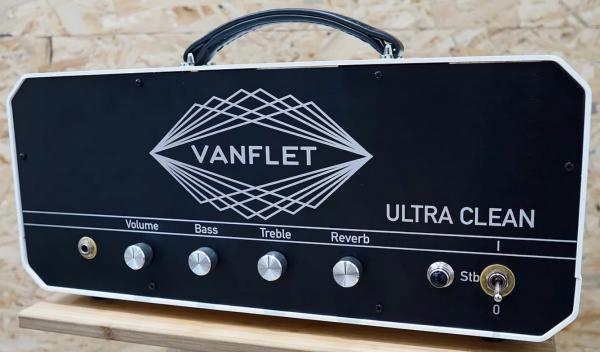 Tête ampli guitare électrique Vanflet Ultra Clean Head - White