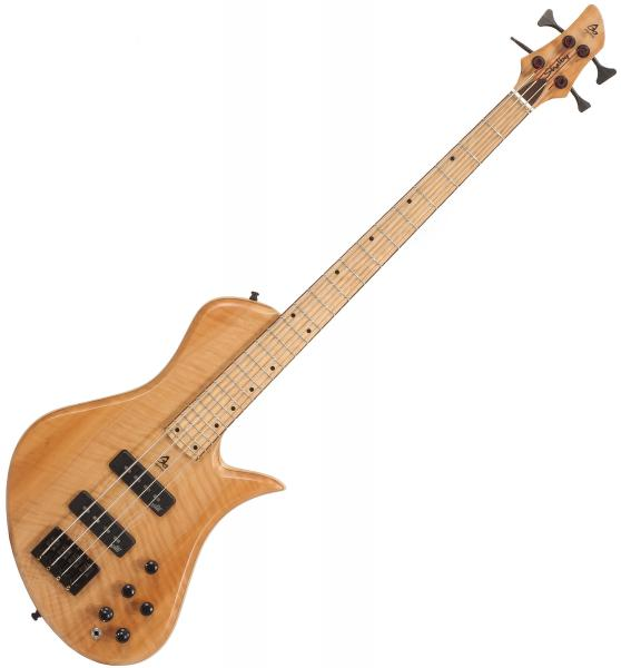 Basse électrique solid body Aquilina Shelby 4 Custom (#01854) - Natural