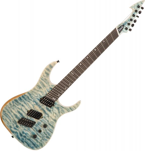 Guitare électrique multi-scale Ormsby Hype GTR 6 Ash - Denim