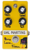 Pédale overdrive / distortion / fuzz Val martins Pero Loco