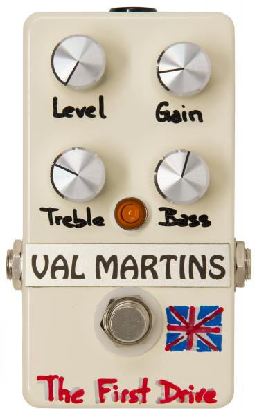Pédale overdrive / distortion / fuzz Val martins The First Drive