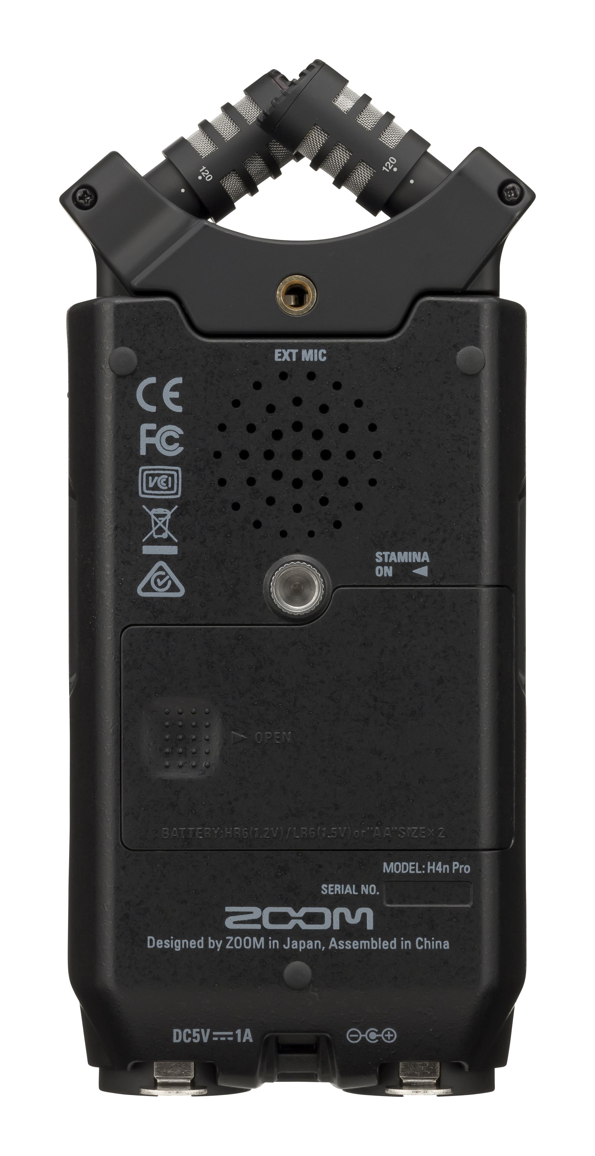 Zoom H4n Pro Black Portable Recorder