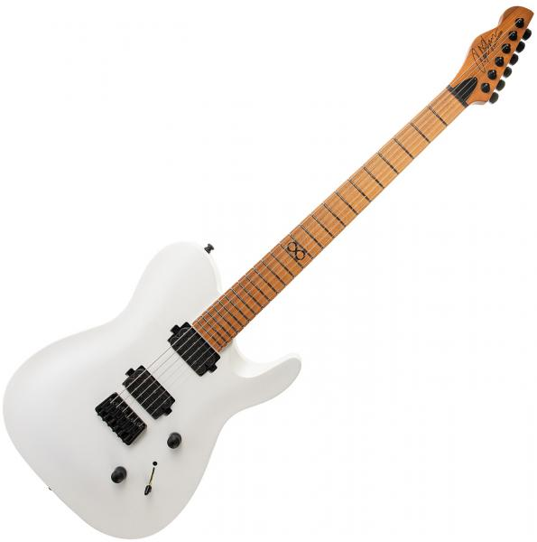 Guitare électrique solid body Chapman guitars ML3 Pro Modern - Hot white