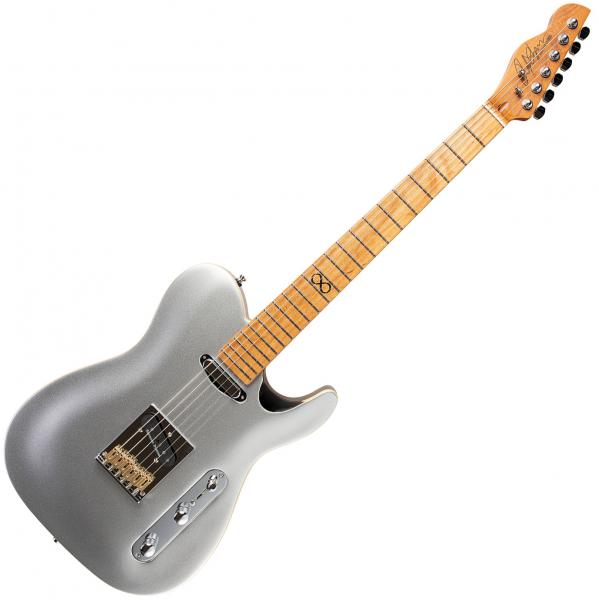 Guitare électrique solid body Chapman guitars ML3 Pro Traditional - Argent metallic