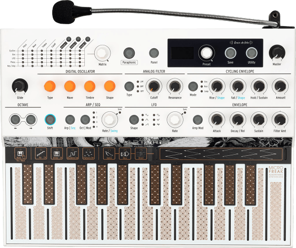 Synthétiseur Arturia Microfreak Vocoder Limited Edition