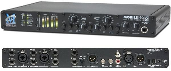 Interface audio firewire Metric halo Mobile I/O ULN2 Expanded