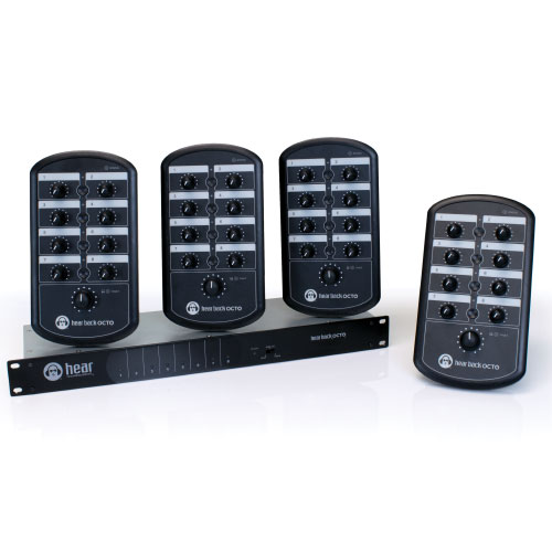 Contrôleur de monitoring Hear technologies OCTO MIXER FOUR PACK