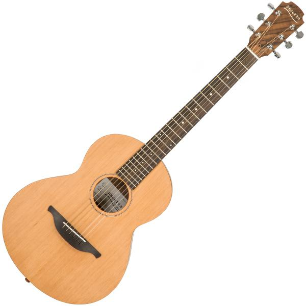 Guitare folk & electro Sheeran by lowden W01 +Bag - Natural satin