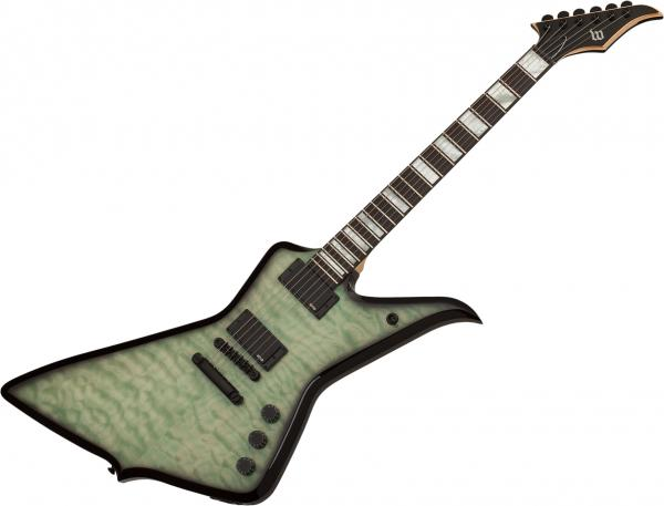Guitare électrique solid body Wylde audio Blood Eagle - Nordic ice
