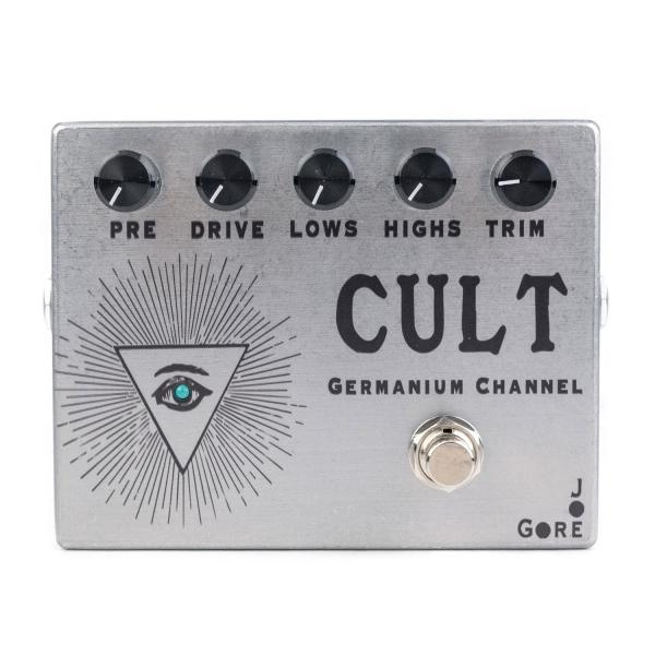 Pédale overdrive / distortion / fuzz Joe gore Cult Germanium Channel