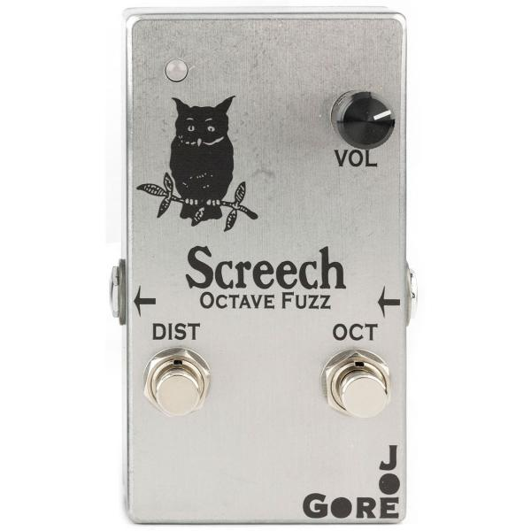 Pédale overdrive / distortion / fuzz Joe gore Screech