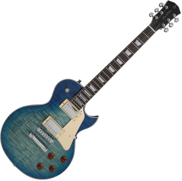 Guitare électrique solid body Sire Larry Carlton L7 - Trans blue