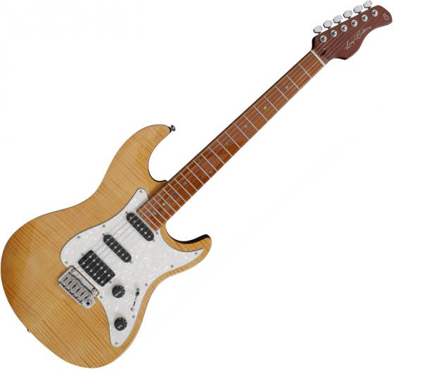 Guitare électrique solid body Sire Larry Carlton S7 FM - Natural