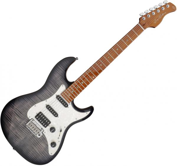 Guitare électrique solid body Sire Larry Carlton S7 FM - Trans black