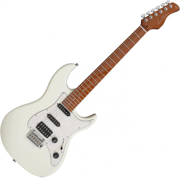 Guitare électrique solid body Sire Larry Carlton S7 - Antique white