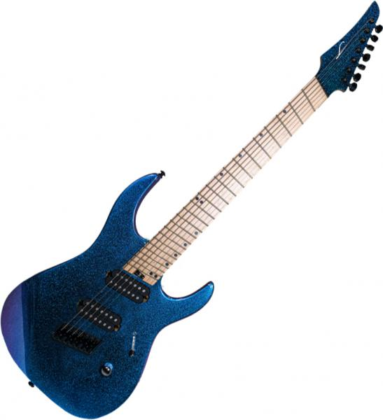 Guitare électrique multi-scale Legator Ninja F7FS - Color shift