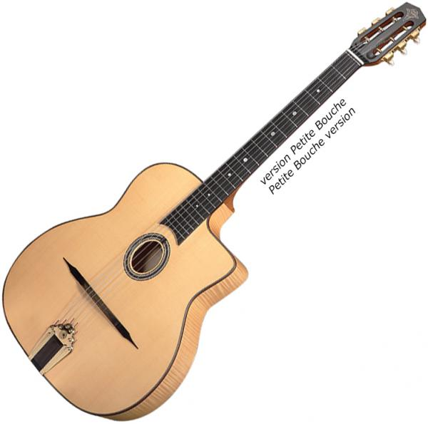 Guitare manouche Altamira Gypsy Jazz MD +Case - Naturel