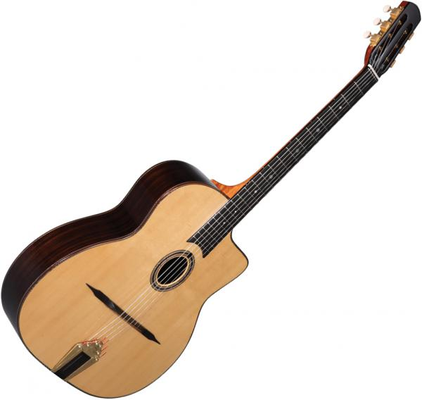 Guitare manouche Altamira Gypsy Jazz M01 +Case - Natural
