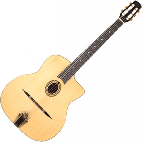 Guitare manouche Altamira Gypsy Jazz M20 +Case - Natural