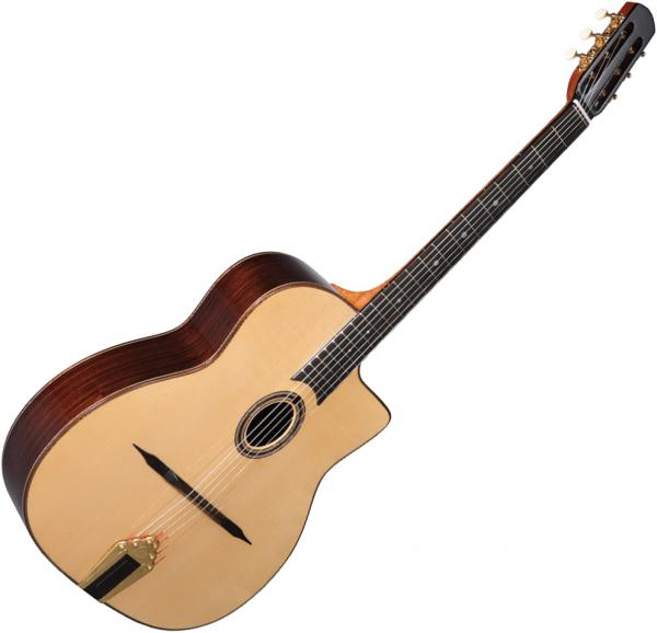 Guitare manouche Altamira Gypsy Jazz M30 +Case - Natural
