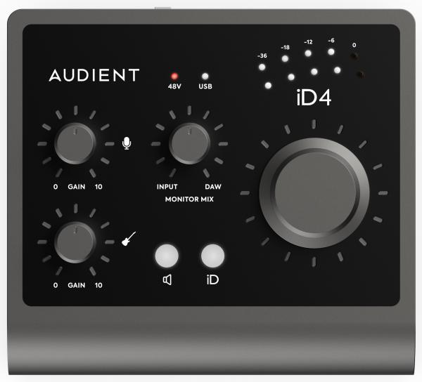 Carte son usb Audient ID4 MKII