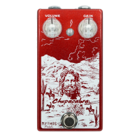 Pédale overdrive / distortion / fuzz Mythos pedals CHUPACABRA