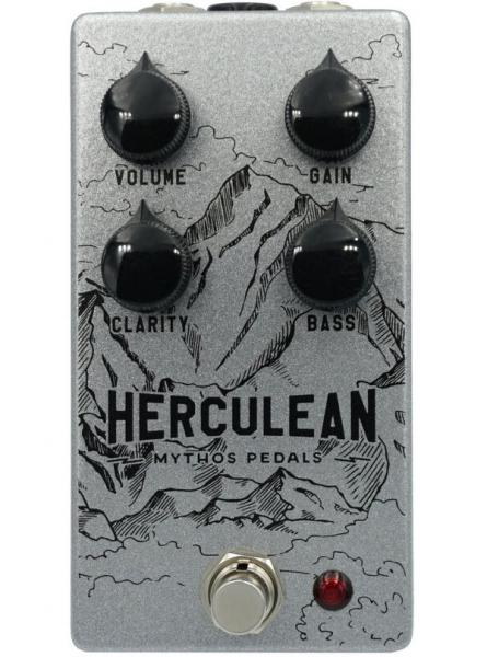 Pédale overdrive / distortion / fuzz Mythos pedals Herculean V2 Overdrive