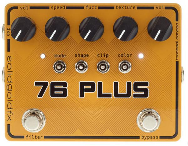 Pédale overdrive / distortion / fuzz Solidgoldfx 76 Plus Octave Up Fuzz & Filter