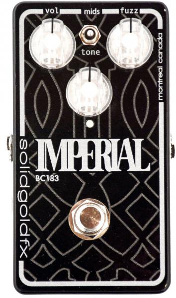 Pédale overdrive / distortion / fuzz Solidgoldfx Imperial BC183 Fuzz