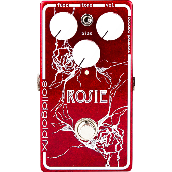 Pédale overdrive / distortion / fuzz Solidgoldfx Rosie Fuzz